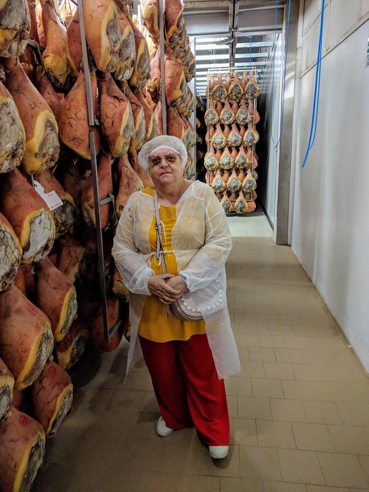 Parma - Linda tussen de prociutto