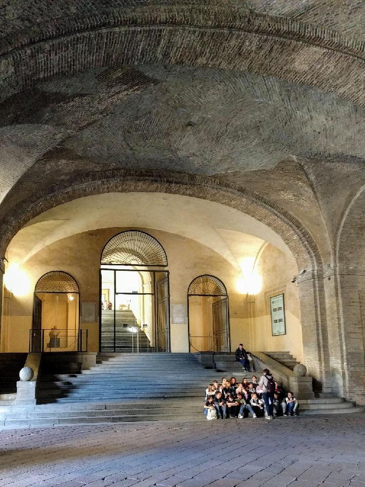 Parma - Palazzo della Pilotta - museumingang