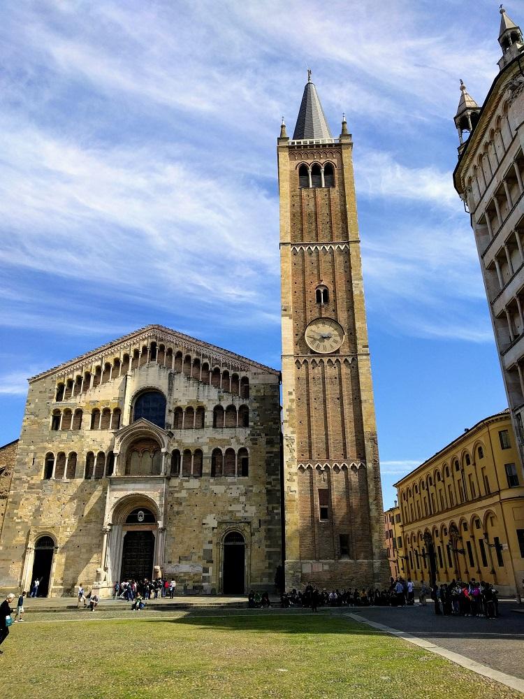 Parma - de kathedraal