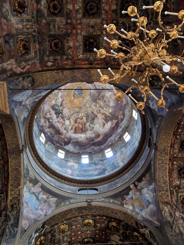 Parma - Santa Maria della Steccata - Assunzione di Maria