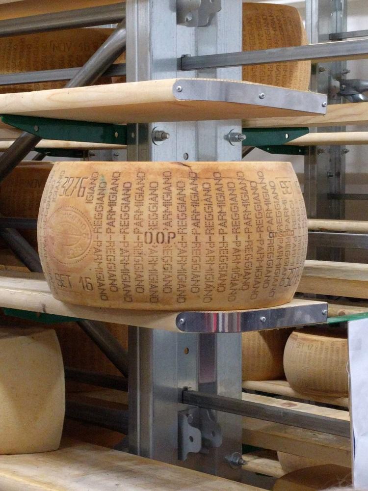 Parma - kaaswiel met keurmerk