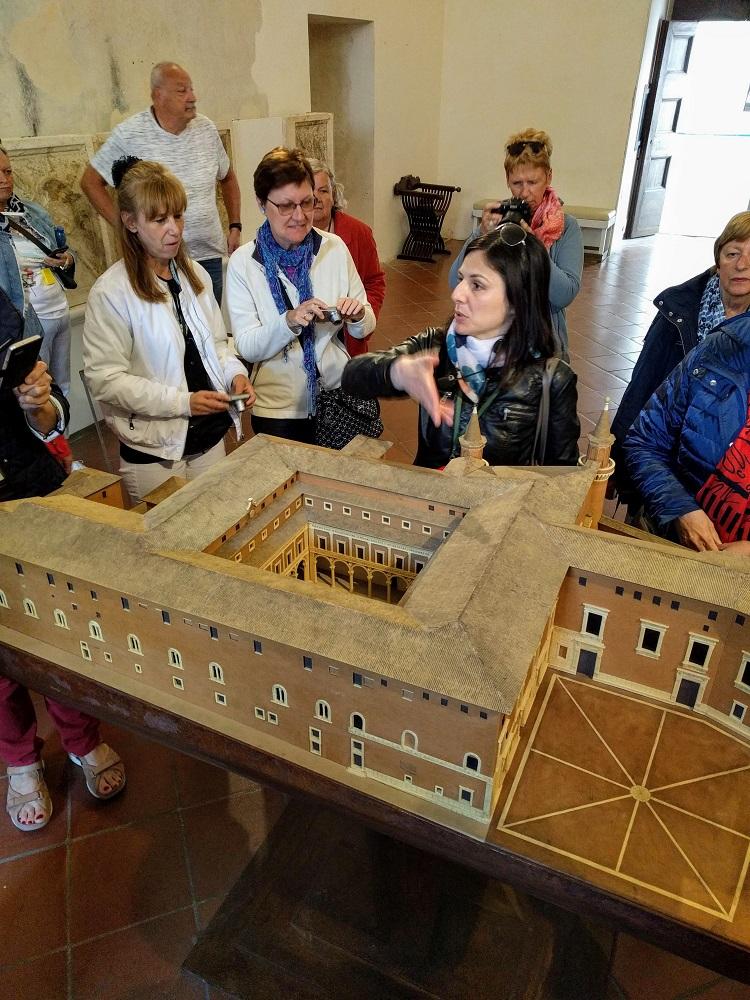 Urbino - paleis - maquette