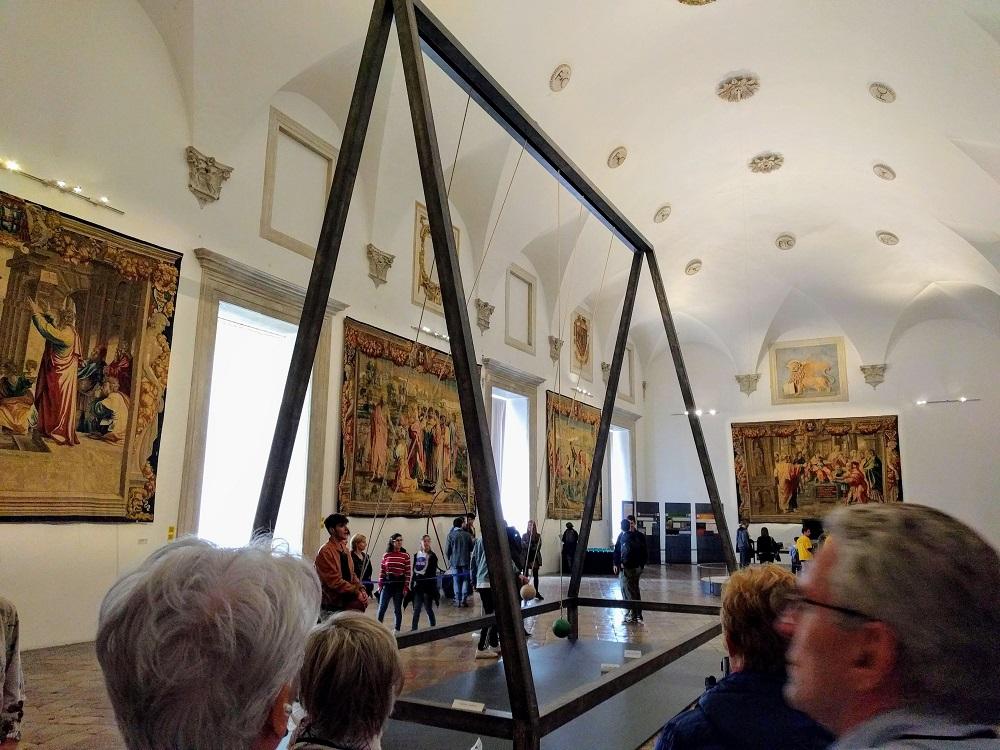 Urbino - palies - zaal met Brusselse wandtapijten
