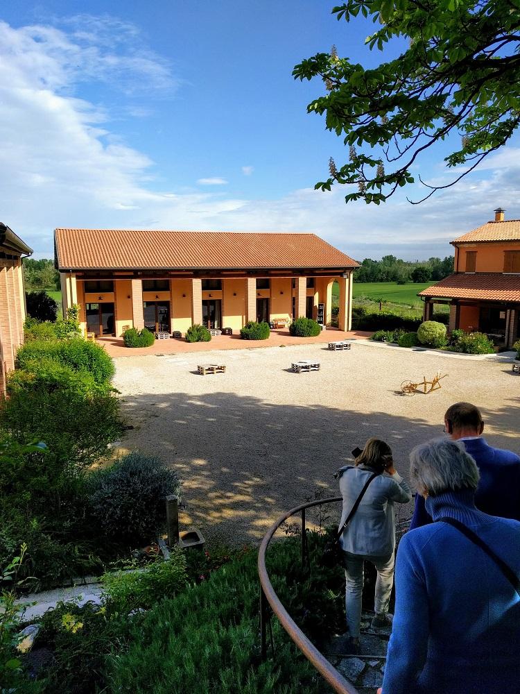 Santarcangelo - Collina dei Poeti - zicht op het bedrijf