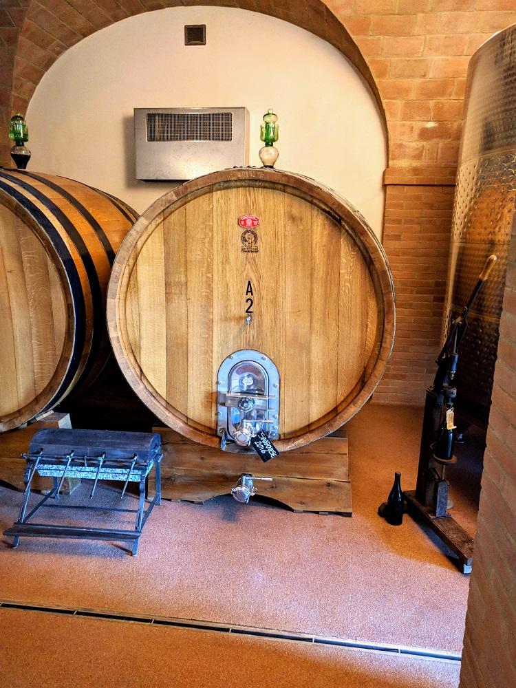 Santarcangelo - Collina dei Poeti - wijnvaten
