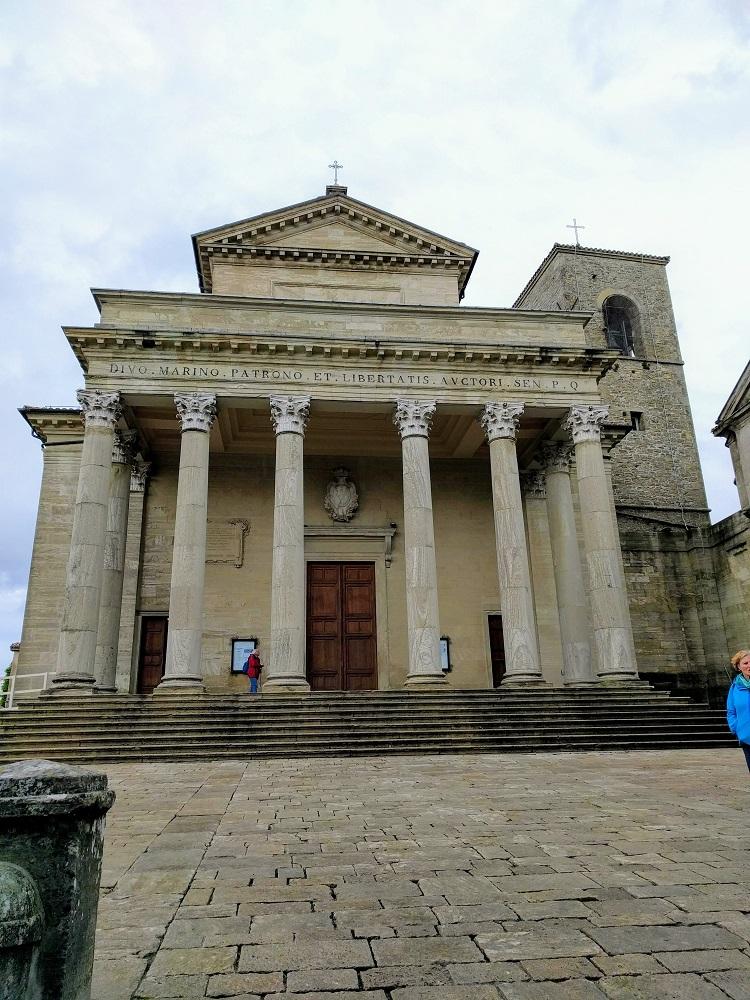 San Marino - de basiliek van San Marino