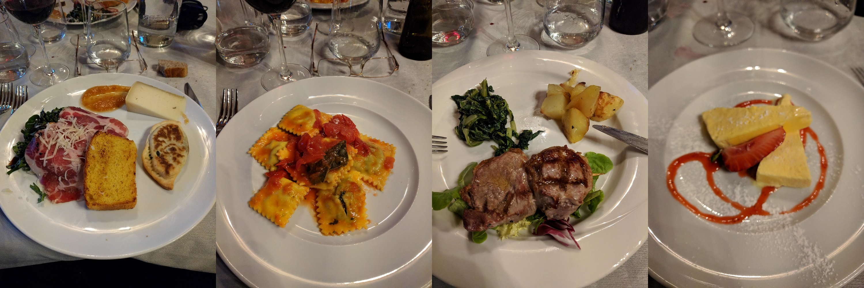 Gradara - restaurant - avondmaal