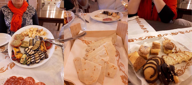 middagmaal deel 2 in de collina del poeti