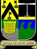 Wapen van de familie Bentein-Debaere in heraldische kleuren